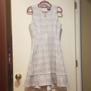 Nwt Donna Karen Pocketed A-line Dress XS